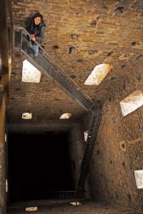 L'intérieur du clocher